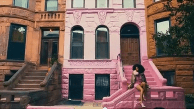 Pretty in Pink! Solange Pays Homage to Once-Blushing Park Slope Brownstone