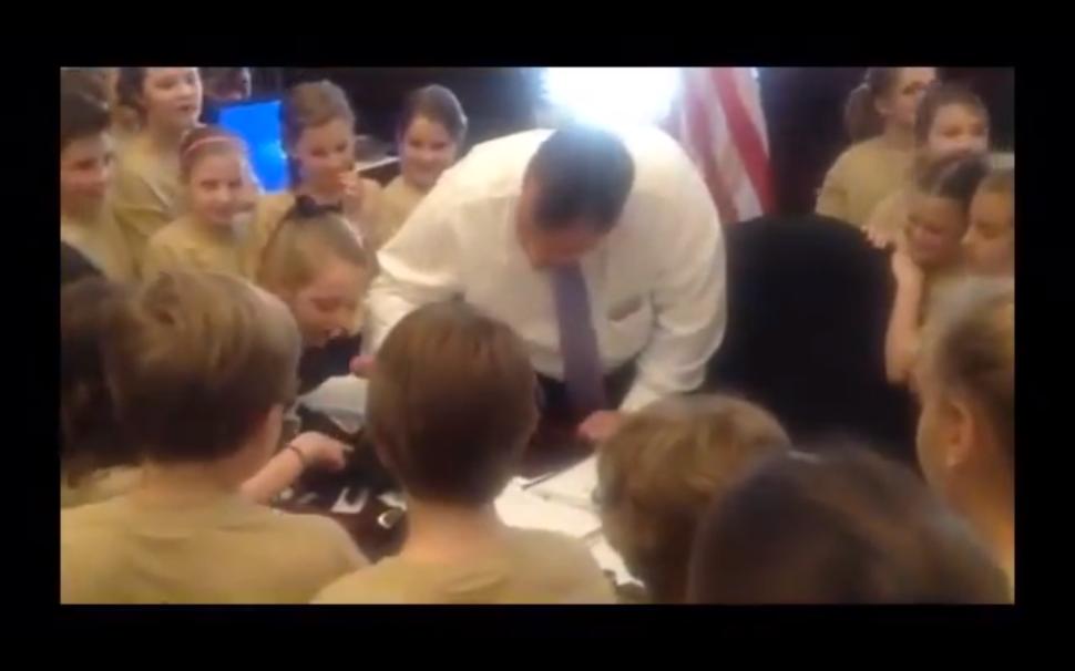 PETA Slams Gov. Christie for Killing Spider in Front of Students