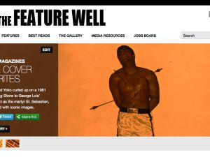 A preview of the homepage, which is still under construction. (Via Nicholas Jackson).