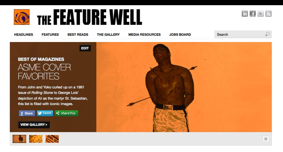 The Feature Well vs. Featurewell.com