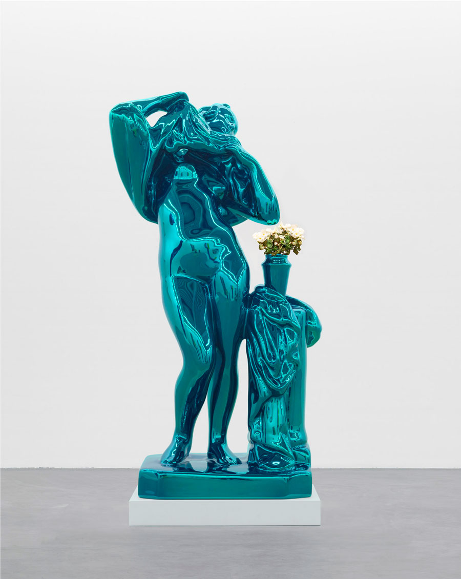 'Jeff Koons: New Paintings and Sculpture' at Gagosian Gallery and 'Jeff Koons: Gazing Ball' at David Zwirner