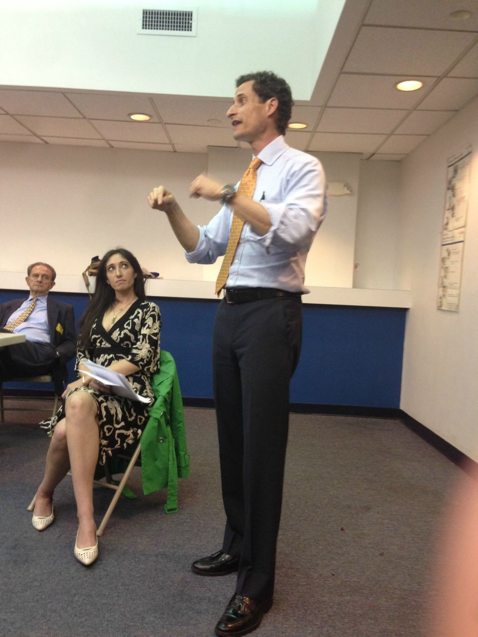 Anthony Weiner's Secret Campaign Stop