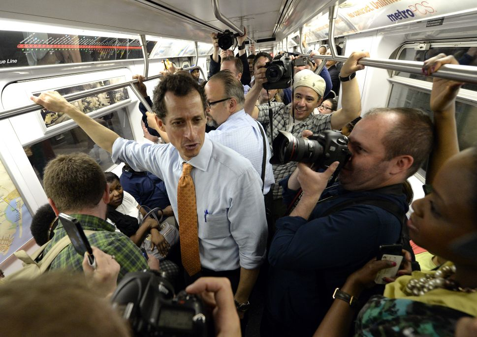 The Anthony Weiner Show Takes Its Circus to Harlem