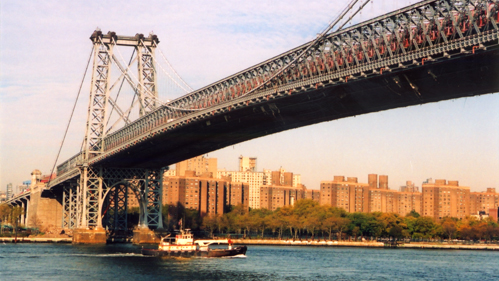The Brooklyn Bridge is one of four bridges that would require a toll according to a proposed plan(Photo via NYC.gov).