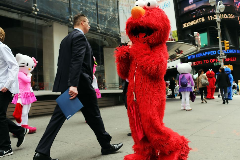 'I Should Have Gone to Law School': Times Square Elmo Fails to Extort $2 Million from the Girl Scouts