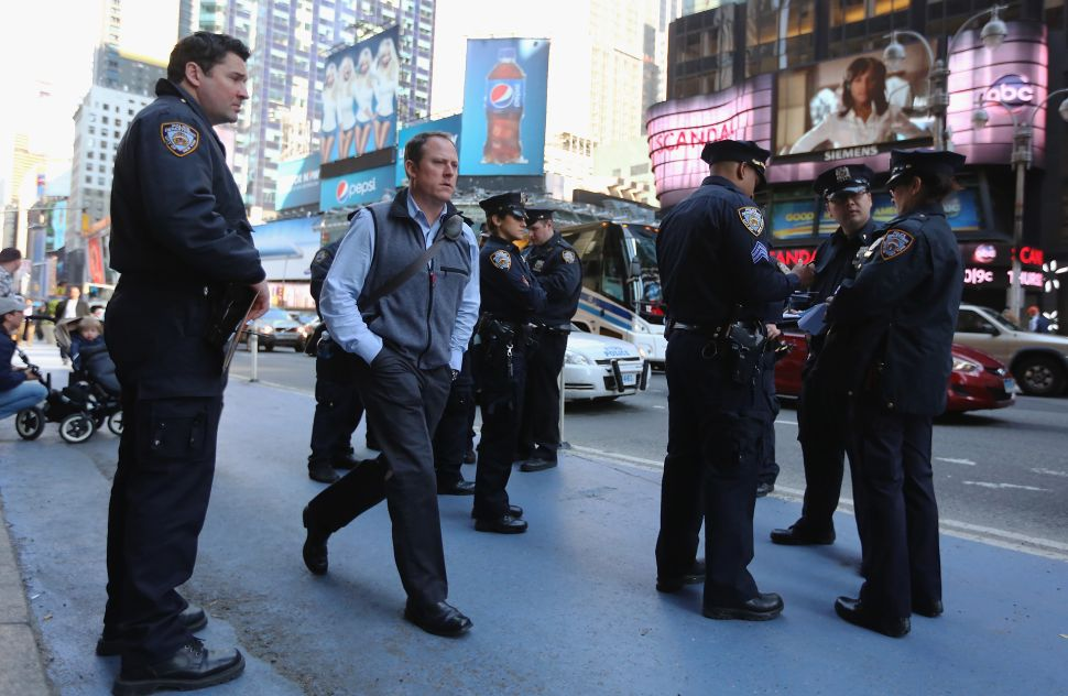 Party Poopers to Make Poking a Cop Illegal in New York