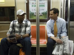 """Anthony Weiner uses """"ideas"""" approach to lead polls. (Photo By: Joe Marino/NY Daily News via Getty Images)"""