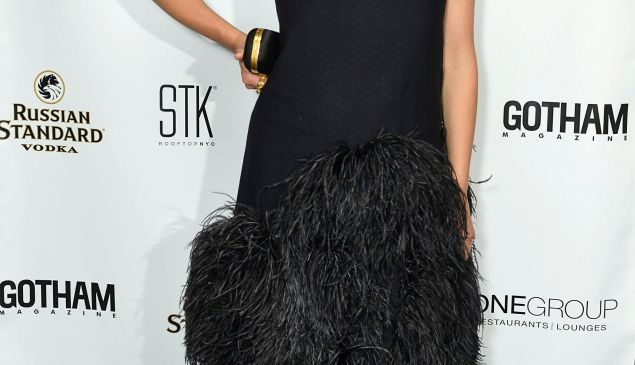 Maggie Gyllenhaal at Gotham Magazine party. (Getty Images)