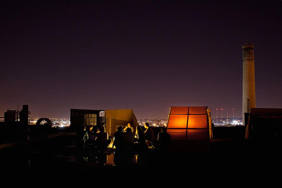 Under the Stars and Above the Streets: Artist Organizes Rooftop Campground