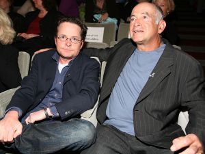 Michael J. Fox and Gary David Goldberg (Getty Images)
