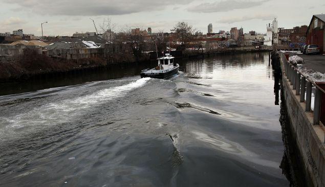 The Gowanus Canal. (Getty)