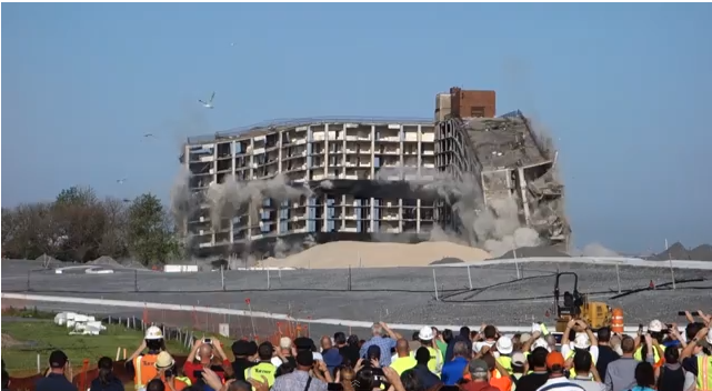 There Are Not Enough Videos of That Building Imploding on Governors Island