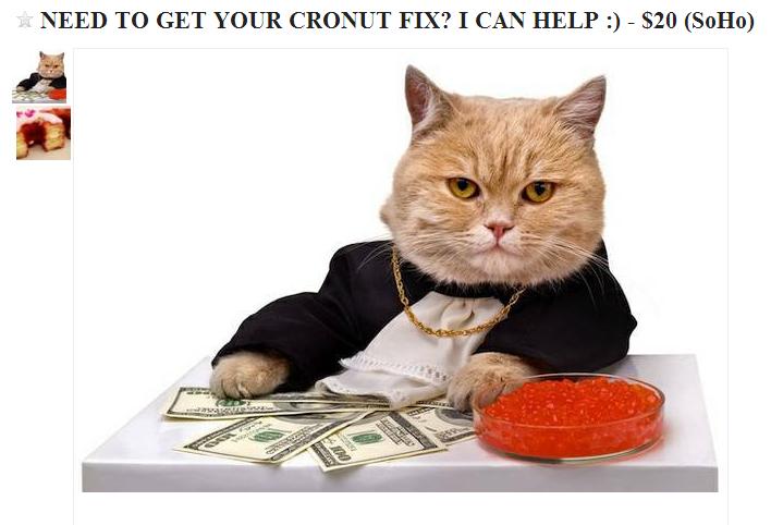 Thriving Cronut Black Market Emerges On Craigslist