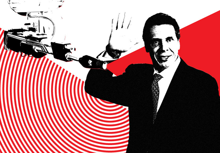 Andrew Cuomo Doesn't Take 'Nazi Death Ray' Threat Very Seriously