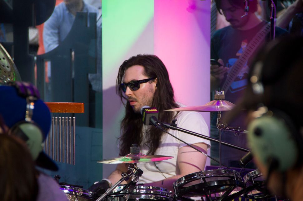 24 Hour Party People: Andrew W.K. Demands Champagne After Drumming for a Day Straight