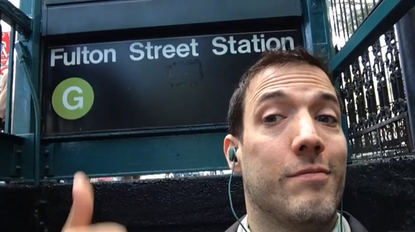 This Guy Loves the G Train Enough to Sing About It