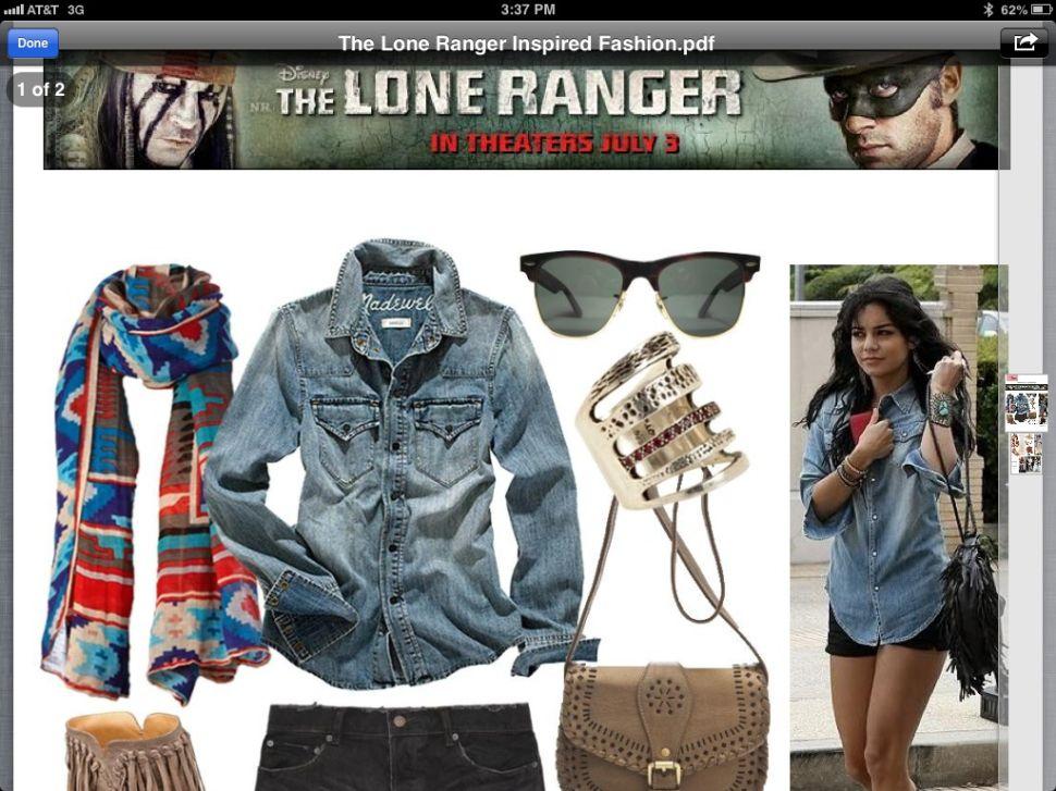 Fashion Don't: <em>Lone Ranger</em> Collaboration on Native American Accessories