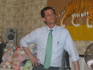 Anthony Weiner speaking to the New Kings Democrats.
