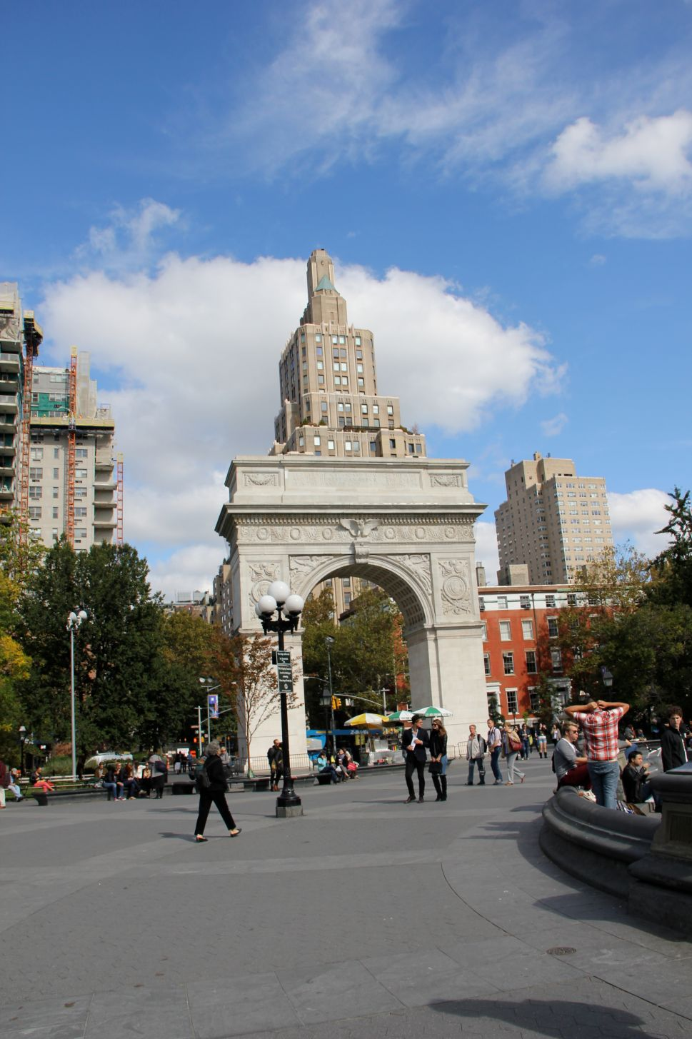 The 'Sketchy Corner' of Washington Square Park Is Finally Unfenced