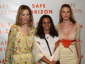 Christina Torre (center) in 2005. (Patrick McMullan)