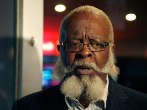 Jimmy McMillan at a movie premier. (Photo: Andy Kropa/Getty Images)