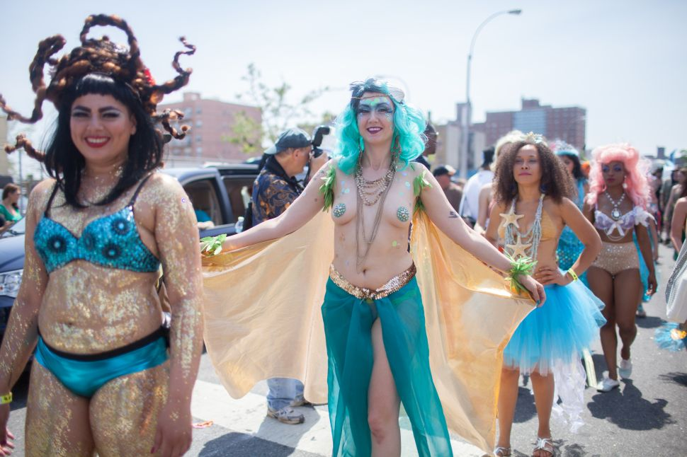 The Mermaids Ride Again: Coney Island Bounces Back With Fabulously Fishy Parade