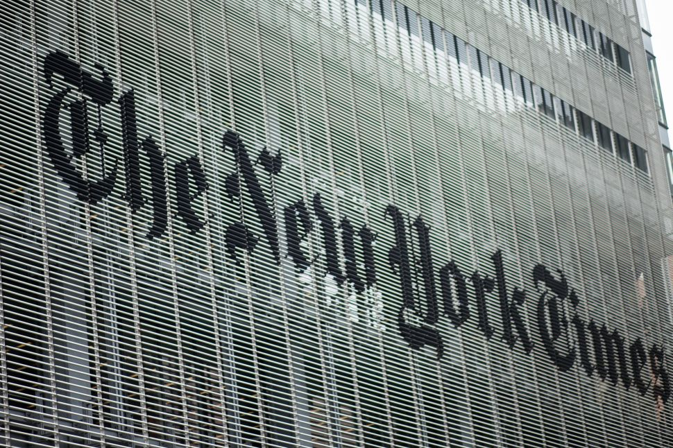 Mysterious Meat Cloud Will Not Be Kept Out of The New York Times Newsroom