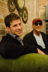 Rodawg founder Joshua Gordon with his father and investor, Larry Gordon. (Photo: Fernando Gomes)