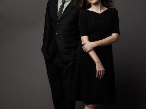 Steve Martin and Edie Brickell.