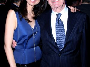 Wendi Deng and Rupert Murdoch in happier times. (Patrick McMullan)