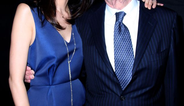 Wendi Deng and Rupert Murdoch in happier times. (Patrick McMullan)