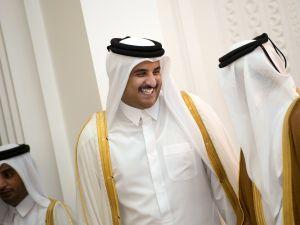 Qatari Crown Prince Sheikh Tamim bin Hamad bin Khalifa al-Thani. (Courtesy Getty Images)
