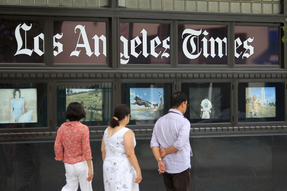 15 California Museum Directors Sign Letter Protesting 'Los Angeles Times' Art Reporter Layoff