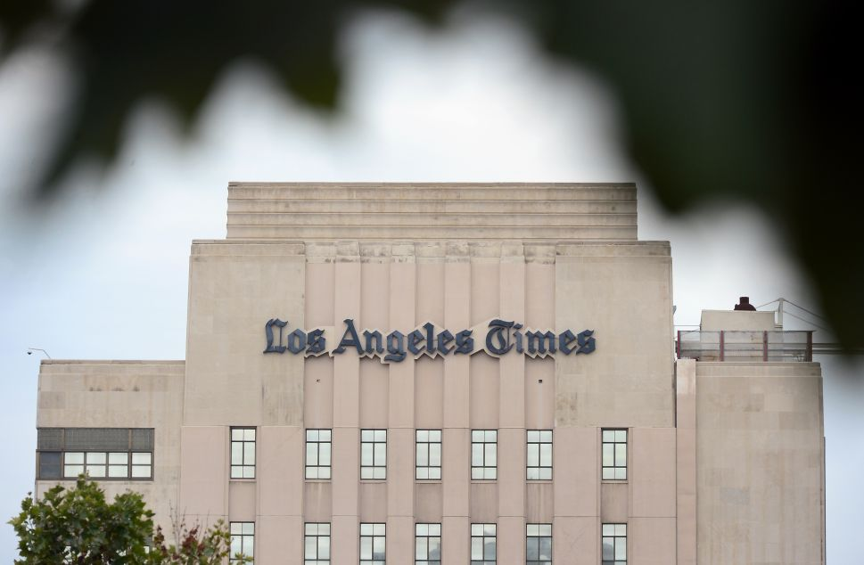 Judge Forces LA Times to Remove Facts From Story Despite First Amendment Implications