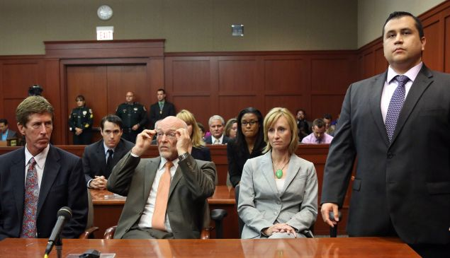 George Zimmerman trial (photo: Getty Images)