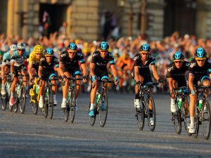 Would you drink these cyclists' sweat? The people of Sweden probably would.