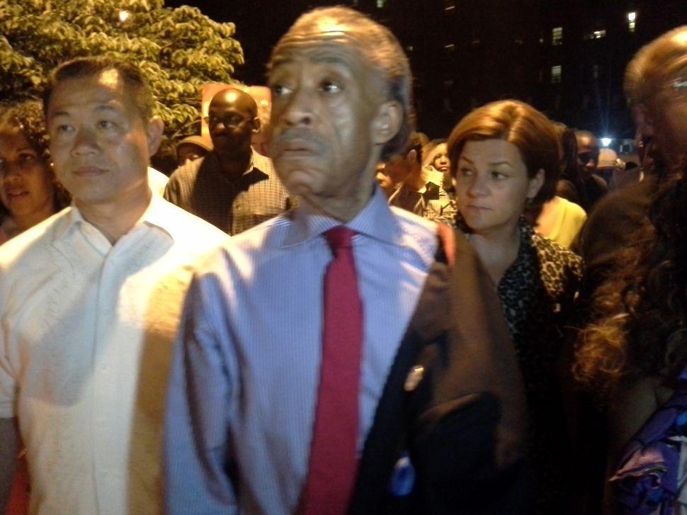 Al Sharpton Hosts a NYCHA Sleepover for Mayoral Hopefuls