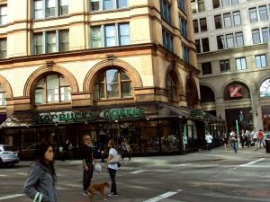 Employees of the Astor Place Starbucks have been accused of discrimination against the deaf. (Flickr)