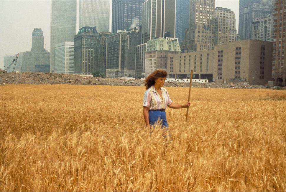 Sandwoman: Land Artist Agnes Denes Has a Plan for the Rockaways