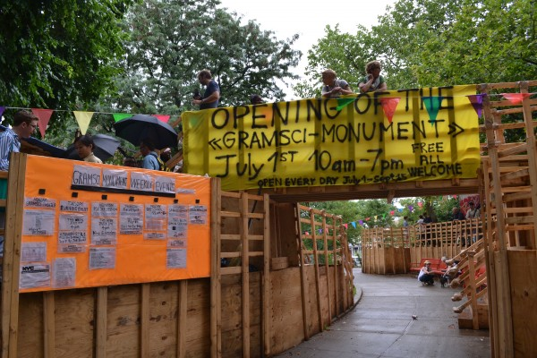 Thomas Hirschhorn's 'Gramsci Monument' Opens at Forest Houses in the Bronx