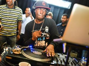 Grandmaster Flash in action. (BFA/W Hotels)