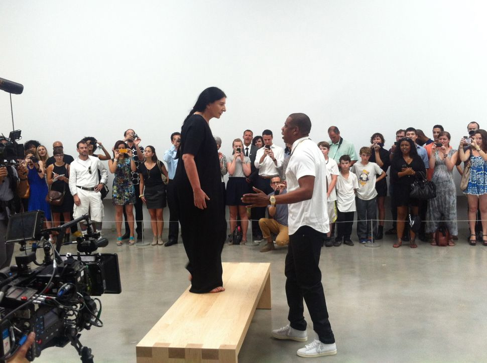 Hova's Witnesses: Jay-Z Brings the New York Art World on Stage