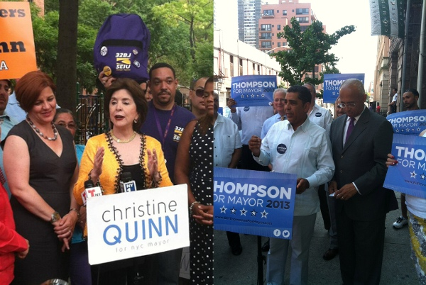The Mayor's Race Shifts Into Latino Overdrive