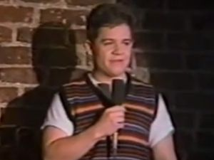Patton Oswalt, age 19. (YouTube)