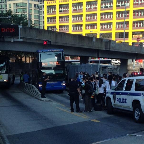 This Is What Happens When a Megabus Meets a Mini Ramp