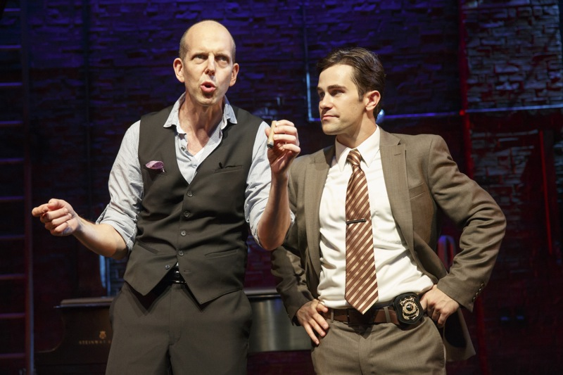 Making a Killing at Second Stage: <em>Murder for Two</em> Has High-Wire Acting