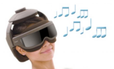 Dorky Vibrating Headset Will Massage Your Screen-Burnt Eyeballs