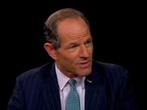 "Eliot Spitzer on PBS's ""Charlie Rose."" (Photo: YouTube)"