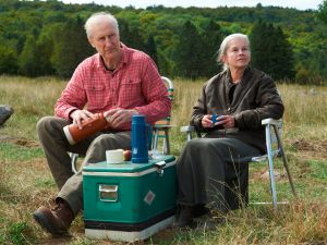 James Cromwell and Genevieve Bujold in Still Mine.