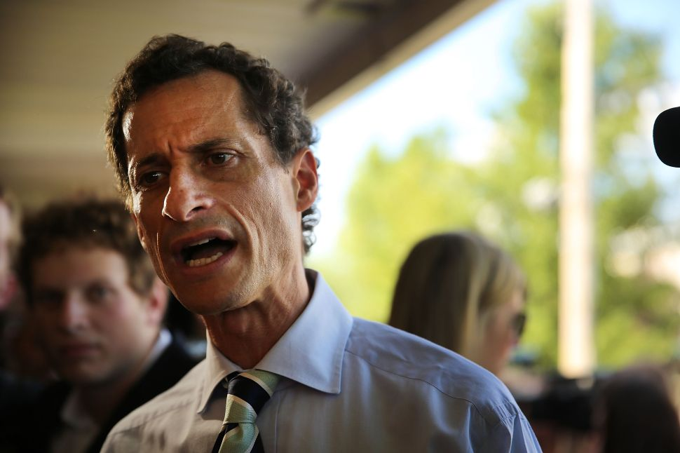 Anthony Weiner Still Confident He'll Be Your Next Mayor